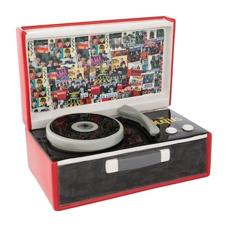 The Beatles Record Player Cookie Jar