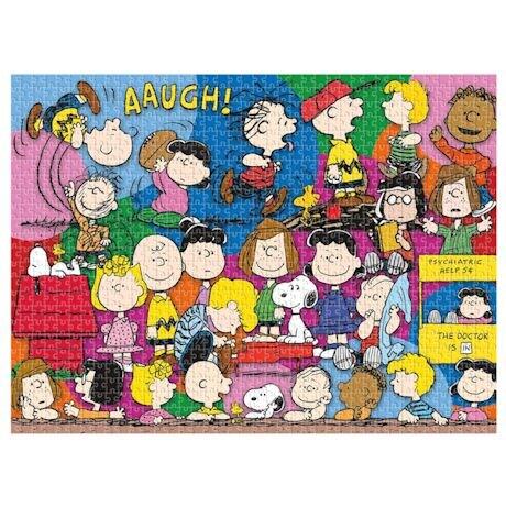 Peanuts Pop Culture 500 Piece Puzzles
