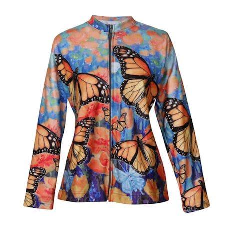 Monarch Spring Zip Front Sweatshirt