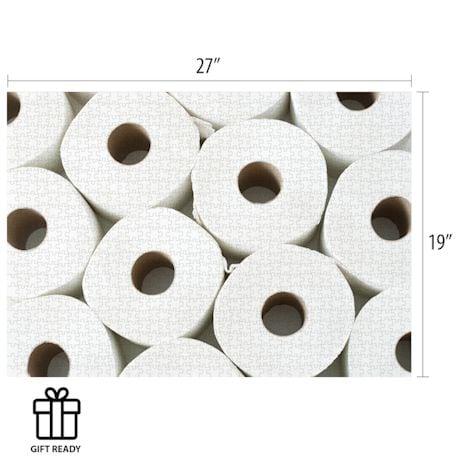 Toilet Paper Hoarding 1000 Piece Puzzle