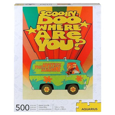 Scooby Doo Where Are You? Pop Culture 500 Piece Puzzles