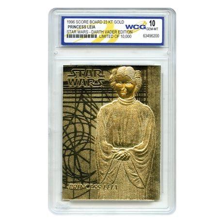 Star Wars Gold-Leaf Limited Edition Card Set