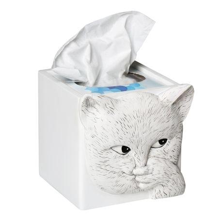 Sniffly Cat Tissue Box Holder