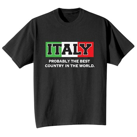 Best Country Shirts - Italy