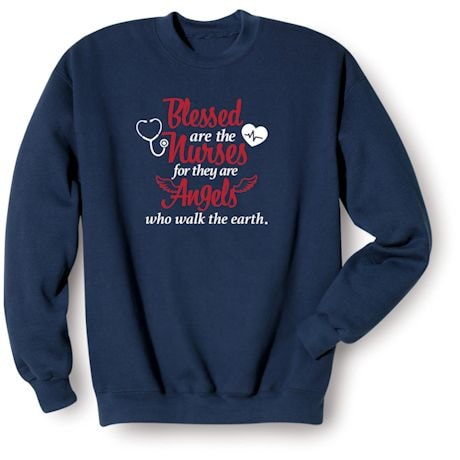 Blessed Are The Essential Workers Shirts - Nurse