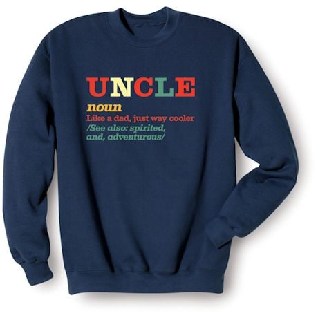 Family Noun Shirts - Uncle