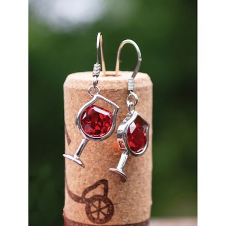Wine Glass Jewelry