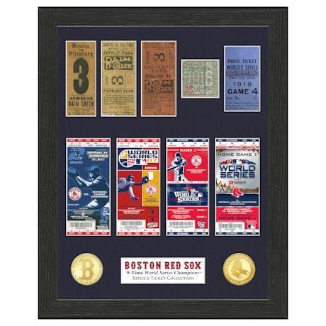 Framed MLB World Series Champions Tickets