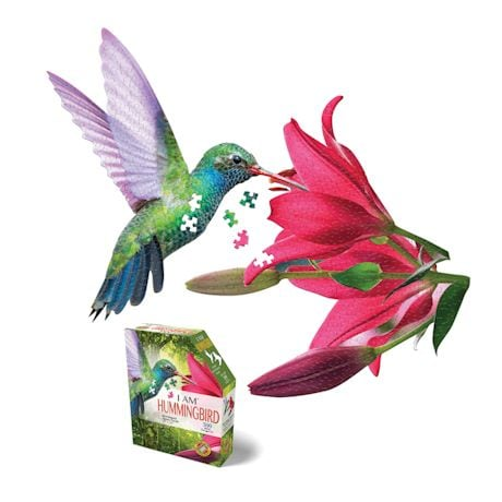 I Am Hummingbird Shaped Puzzle
