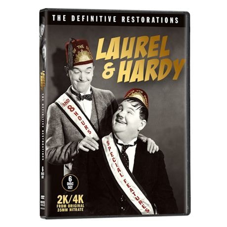 Laurel & Hardy Definitive Restorations DVDs
