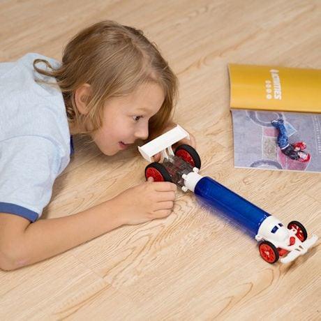 Atmospheric Turbo Racer Car