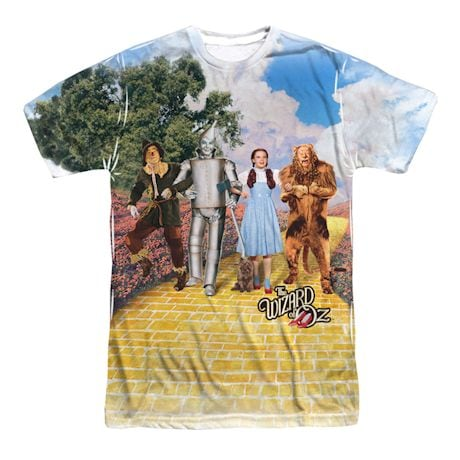 The Wizard Of Oz Sublimated Shirt