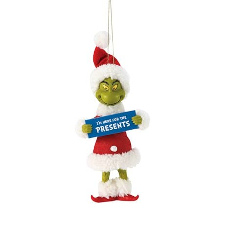 The Grinch Ornaments Set