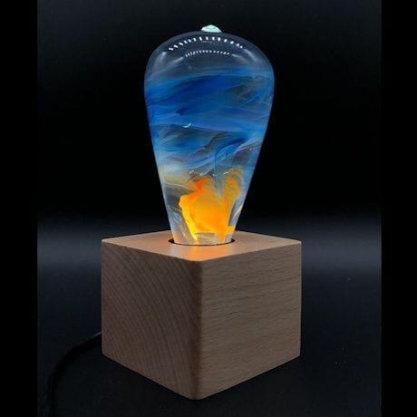 Fire Light Art Lamp
