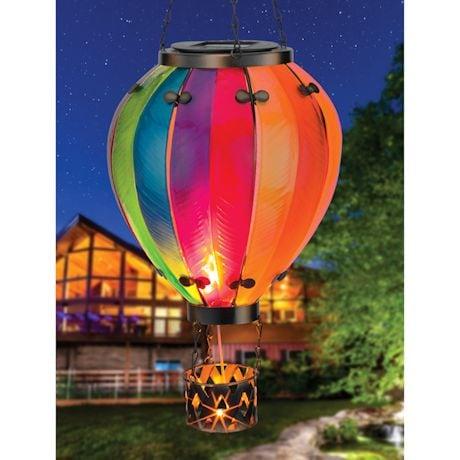 Solar Hot Air Balloon Light