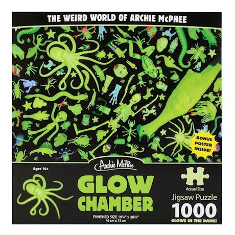 Glow Chamber Glow-in-the-Dark 1000 Piece Puzzle