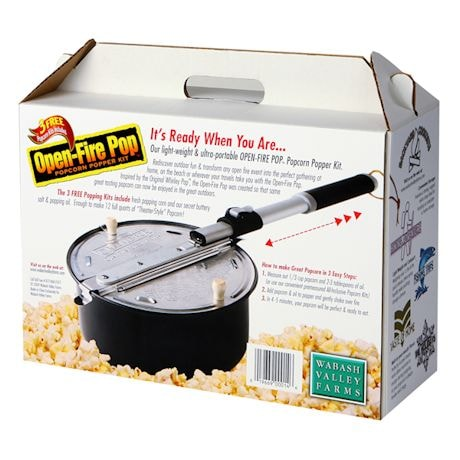 Outdoor Popper Pop Corn Kit