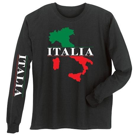 Wear Your Italia (Italian) Heritage Shirts