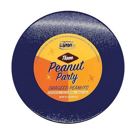 Three-Peanut Party Tin