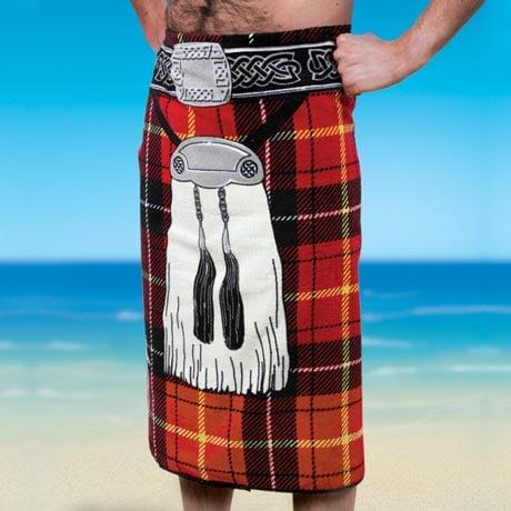 Kilt Beach Towel