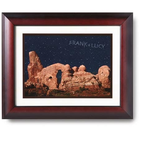 Personalized Night Sky Framed Print