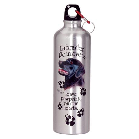 DOG BREED WATER BOTTLE - BLACK LAB