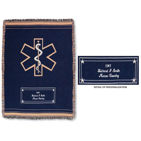 PERSONALIZED EMT THROW