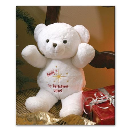 PERSONALIZED FIRST CHRISTMAS BEAR
