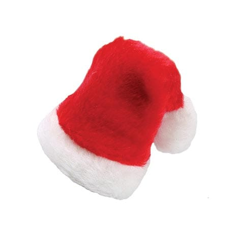Fabric Santa Cap