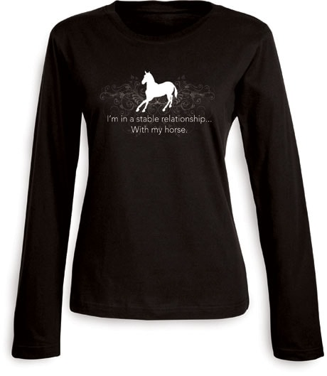 STABLE RELATIONSHIP LADIES LONG SLEEVE T-SHIRT
