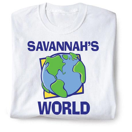Personalized World Shirt