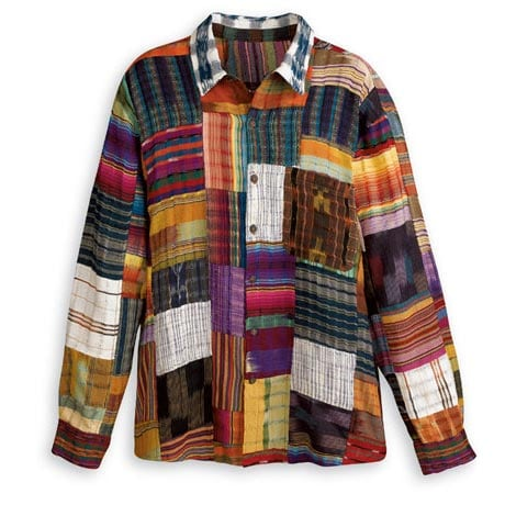 COLORFUL PATCHWORK SHIRT