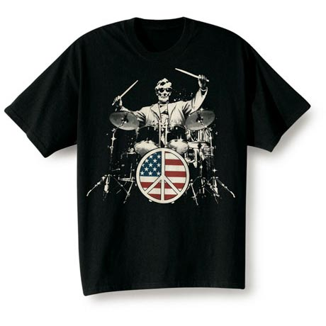 LINCOLN DRUMMER T-SHIRT