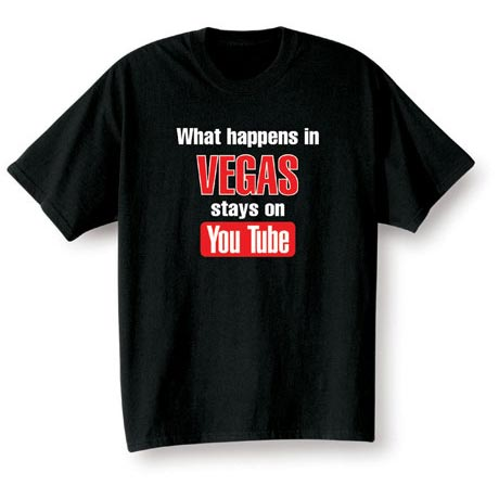 Personalized What Happens In [Your Choice Of Location Goes Here] Stays On Youtube Shirt