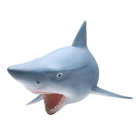 HEAD TURNING 3D WALL PLAQUE - SHARK