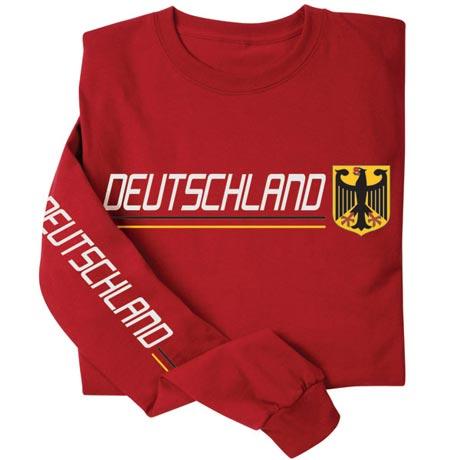 International Pride Long Sleeve Shirt - Deutschland (Germany)