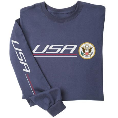 International Pride Long Sleeve Shirt - USA
