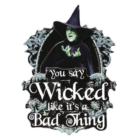 3-D WICKED WITCH MAGNET