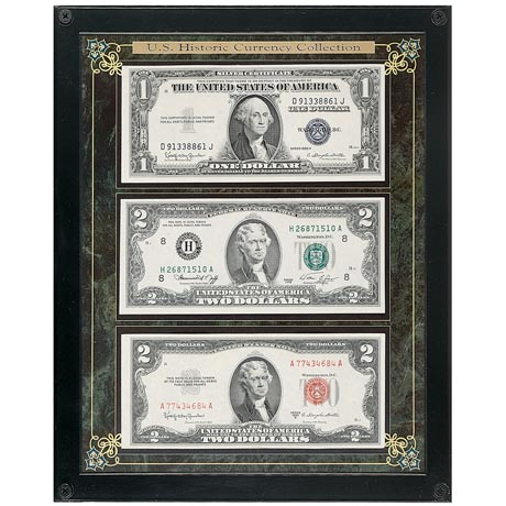 HISTORIC U.S. CURRENCY COLLECTION