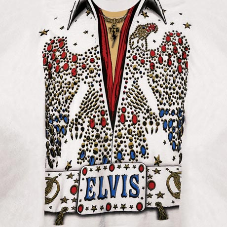 ELVIS COSTUME T-SHIRT