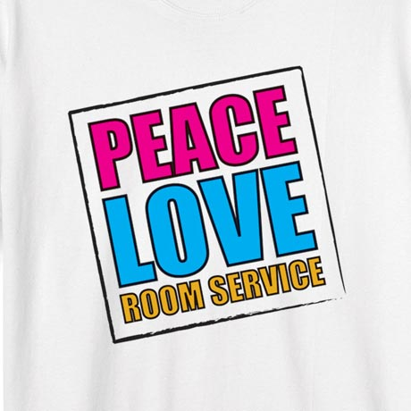 Personalized Peace Love [Your Choice Of Words] Shirt