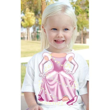 TODDLER COSTUME TEE - PRINCESS
