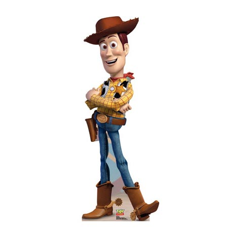 Life-Size Cardboard Movie Standup - Toy Story Woody