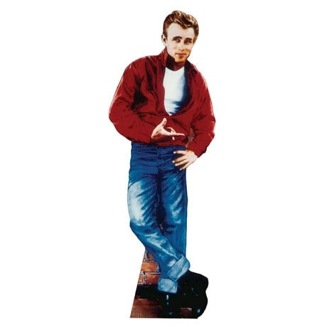 Life-Size Cardboard Movie Standup - James Dean