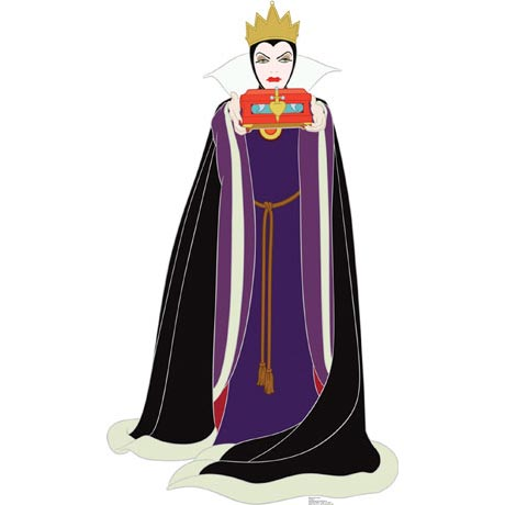 Life-Size Cardboard Movie Standup - Disney Wicked Queen