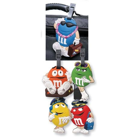 M&M'S LUGGAGE TAGS