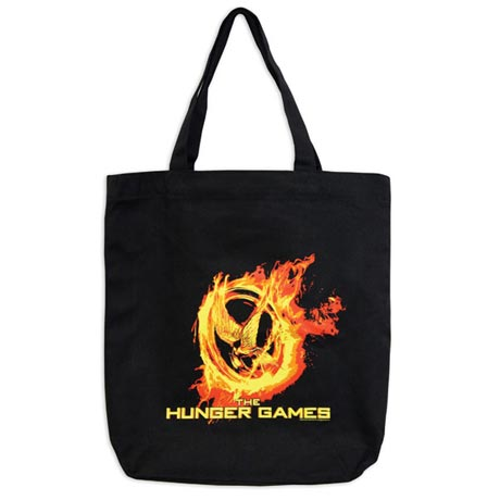 HUNGER GAMES MOVIE POSTER TOTE BAG