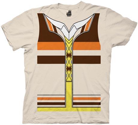 Big Bang Theory Raj Costume T-Shirt