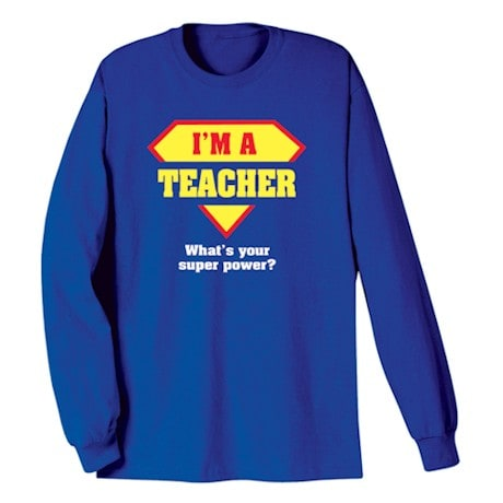 Personalized Super Power Shirts