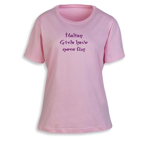 Personalized [Your Choice] Girls Have More Fun Shirts